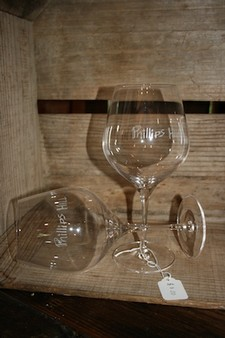 Phillips Hill pinot wine glass